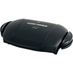 George Foreman GRP0004B Removable Plate Grill, Black