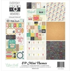 Echo Park Paper SW8105 12 x 12 in. Echo Park Collection Kit - Everyday Memories