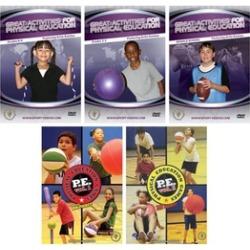 Physical Education 5 DVD Set