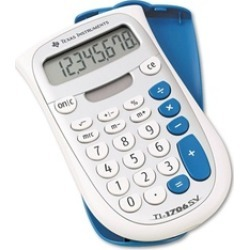 Texas Instruments TI1706SV Handheld Standard Function Calculator
