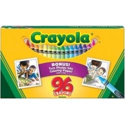 Crayola Llc Formerly Binney & Smith BIN520096 Crayola 96Ct Crayons Hinged Top