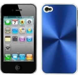 Insten Blue Cosmo Back Case For iPhone 4 4S