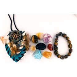 Concentration Crystal healing Pouch