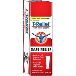 T-Relief Pain Relief Cream, 4 Ounce