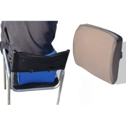 Lumbar Support Orthopedic Seat Cushion for Back Spine Pain Relief