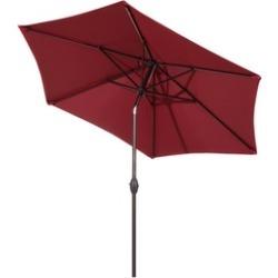 Abba Patio 9-Ft Market Outdoor Aluminum Table Patio Umbrella