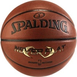"Spalding Neverflat 29.5"" Indoor/Outdoor Basketball"
