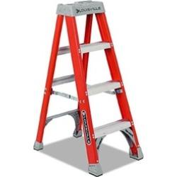 Louisville Ladder 443-FS1504 4' Fiberglass Advent Step Ladder