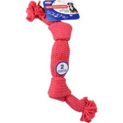 Ethical Dog 689726 Super Squeak Rope Dog Toy - Assorted 14 in.