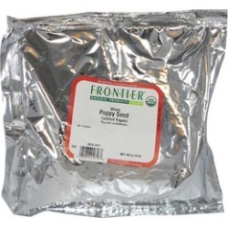Frontier Herb 28374 Organic Poppy Seed