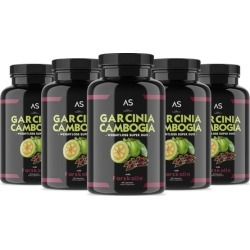 Angry Supplements Garcinia Cambogia with Forskolin Weightloss Supplement (6-Pk)