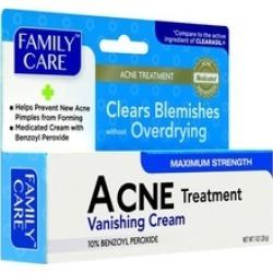 Acne Cream Treatment, 1.0 Oz, Max Strenth