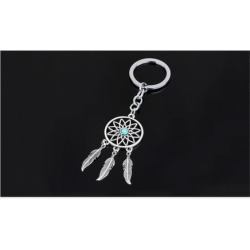 Dream Catcher Key Chain, Keyring, Feather Tassel Keychain