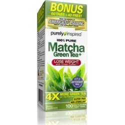 Purely Inspired 100% Pure Matcha Green Tea Weight-Loss Supplements (1, 2, or 3-Pack)