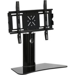 Furinno FRL16A9BK 65 in. Modern TV Stand with Wall Mount Bracket