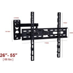 "Swivel Tilt TV Wall Mount Fits 26""- 55"" TV screen 26"" 30"" 40"" 50"" 55"""