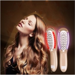 Electric Vibration Hair Scalp Massager Multifunctional Anti-stripping Hair Comb