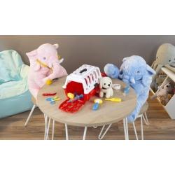 Hey Play Kids' Pretend Play Veterinary Set (11-Piece)