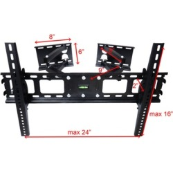 Impact Mounts Corner Articulating LCD LED Plasma TV Wall Mount Bracket