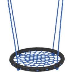 """24"""" Web Swing Playground Tree Hanging Play Slide Seat Nylon Net Rope"""