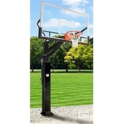 Gared Sports GP12G72DM 42 x 72 in. 2000 Plus Goal Glass Super Pro Jam Basketball