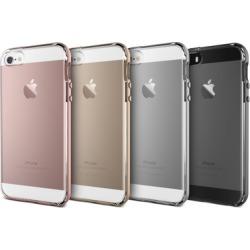 VRS Design Crystal Bumper Clear Transparent Case for iPhone 5/5s/SE