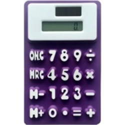 Stylish Handheld Silicone Scientific Calculator