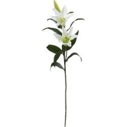 "26.5"" Elegant Bouquet Lily Artificial Flower (Set of 12)"