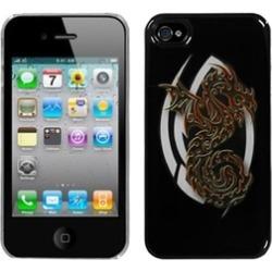 Insten Firebrand Dragon Dream Back Case For iPhone 4 4S