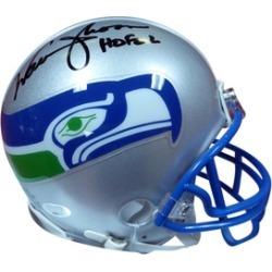 Autographed Warren Moon Seattle Seahawks Mini Helmet