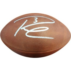 Autographed Russell Wilson Seattle Seahawks Leather Football