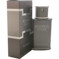 Kouros Silver by Yves Saint Laurent for Men - 1.6 oz EDT Spray