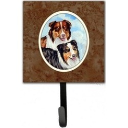 Carolines Treasures 7009SH4 Australian Shepherd What a pair Leash or Key Holder