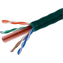 Cat6 Ethernet Bulk Cable Internet Cord Stranded UTP 24AWG 1000ft Green