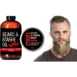 Beard Oil and Beard Balm Kit for Men Care found on MODAPINS from groupon for USD $18.95