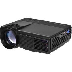 Portable Mini Projector Home Theater Video Movie Game 3D LED HDMI USB