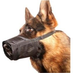 Adjustable Dog Grooming Muzzle No Bark Bite - Any Size