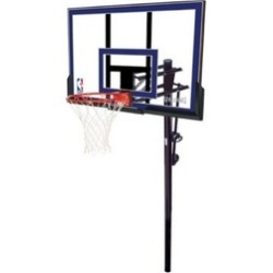 "Spalding 88355 50"" Acrylic In-Ground Basketball System"