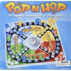 Pressman Toys PRE170406 World Pop N Hop Game for 2-4 Players