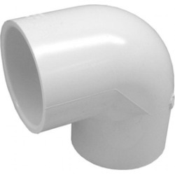 Genova Products 2.50in. PVC 90 degrees Elbow