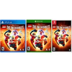LEGO Disney Pixar's The Incredibles Video Game for PlayStation 4, Xbox One, or Nintendo Switch