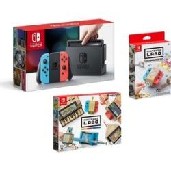Nintendo Switch & Joy Con Bundle With Nintendo Labo Kit
