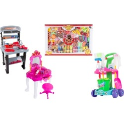 Pretend-Play Home Toy Set by Hey! Play!