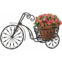 Summerfield Home Garden Decor Iron Bicycle Plant Stand