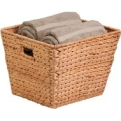 Honey-Can-Do STO-02884 banana leaf basket large tall square, natural