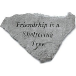 Kay Berry- Inc. 61520 Friendship Is A Sheltering Tree - Garden Accent