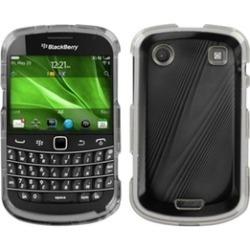 Insten Black Cosmo Case Cover For BLACKBERRY 9930 Bold
