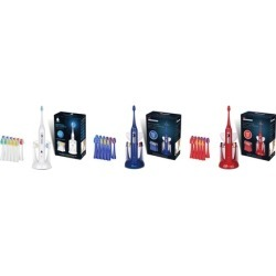 Pursonic S430 SmartSeries Sonic Rechargeable Toothbrush with 12 Brush Heads