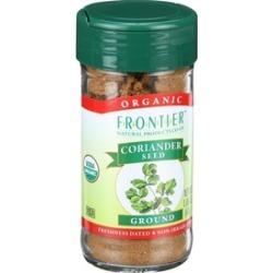 Organic Ground Coriander Seed ( 2 - 1.6 oz bottles )