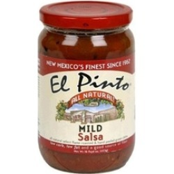 El Pinto Restaurant & Cantina New Mexico Salsa, Pack of 6 - 16 oz.
